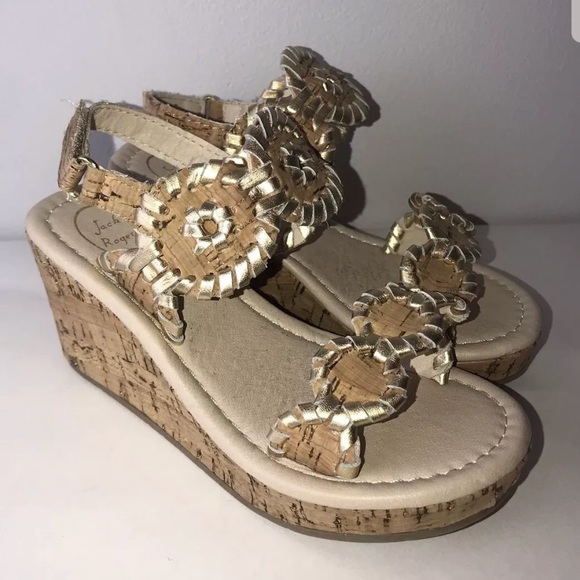 eb9024ffe19 Jack Rogers Other - Jack Rogers Little Girl s Little Miss Luccia Wedge
